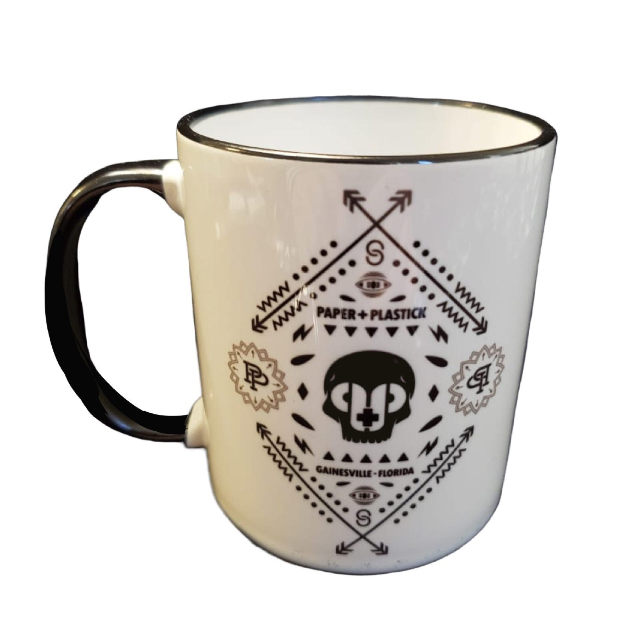 Limited Camp P+P Logo Ceramic Mug
