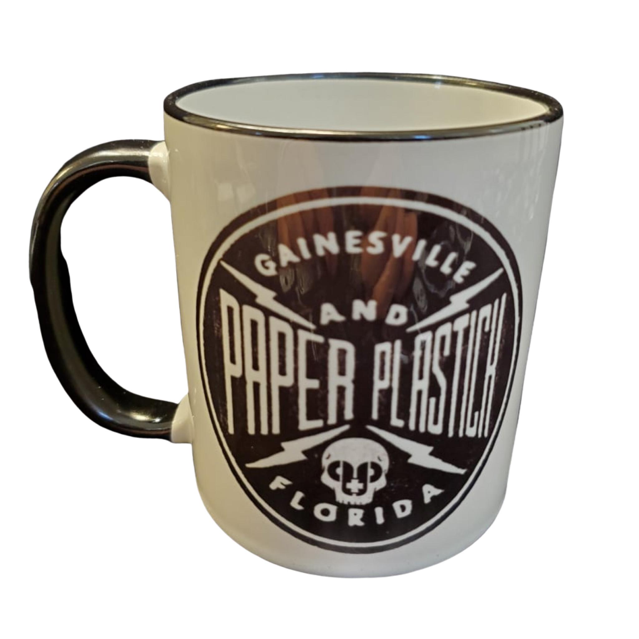 Limited Two tone Round P+P Logo Ceramic Mug
