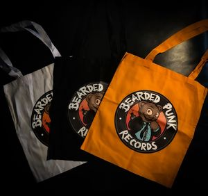 060 Bearded Punk Totebag