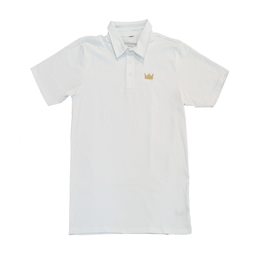 White Crown Polo