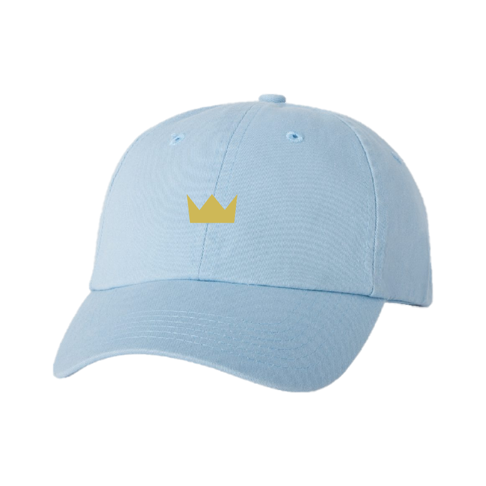 Blue Crown Dad Hat