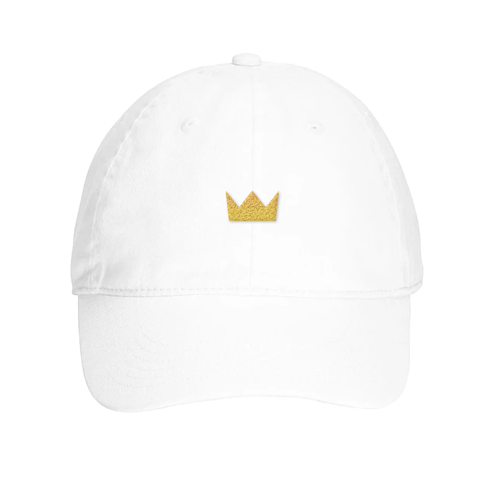 Crown White Dad Hat