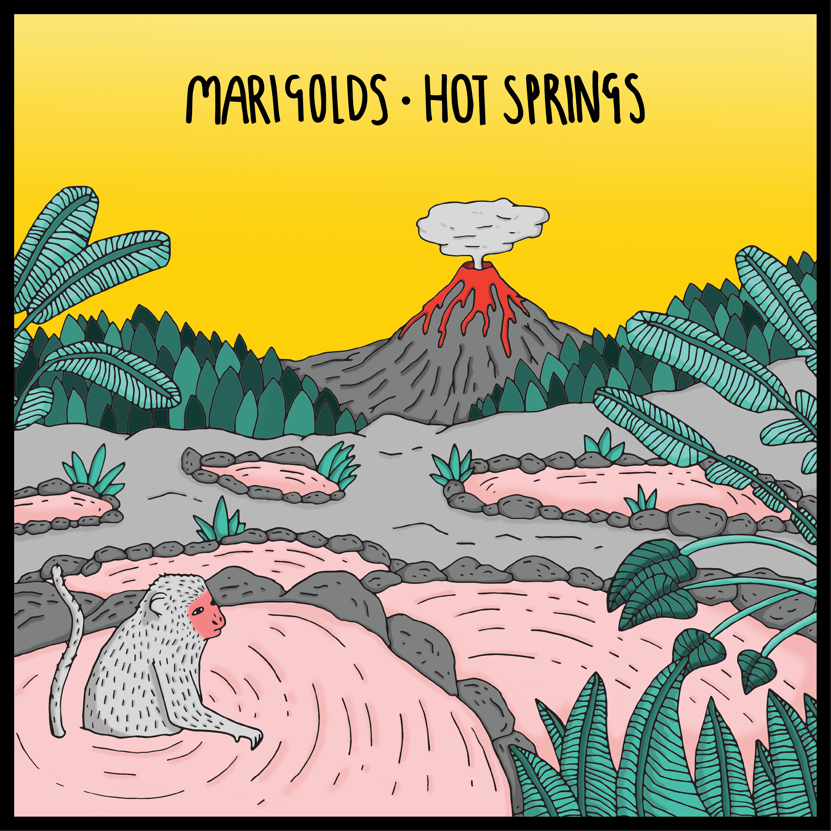 Marigolds - Hot Springs EP