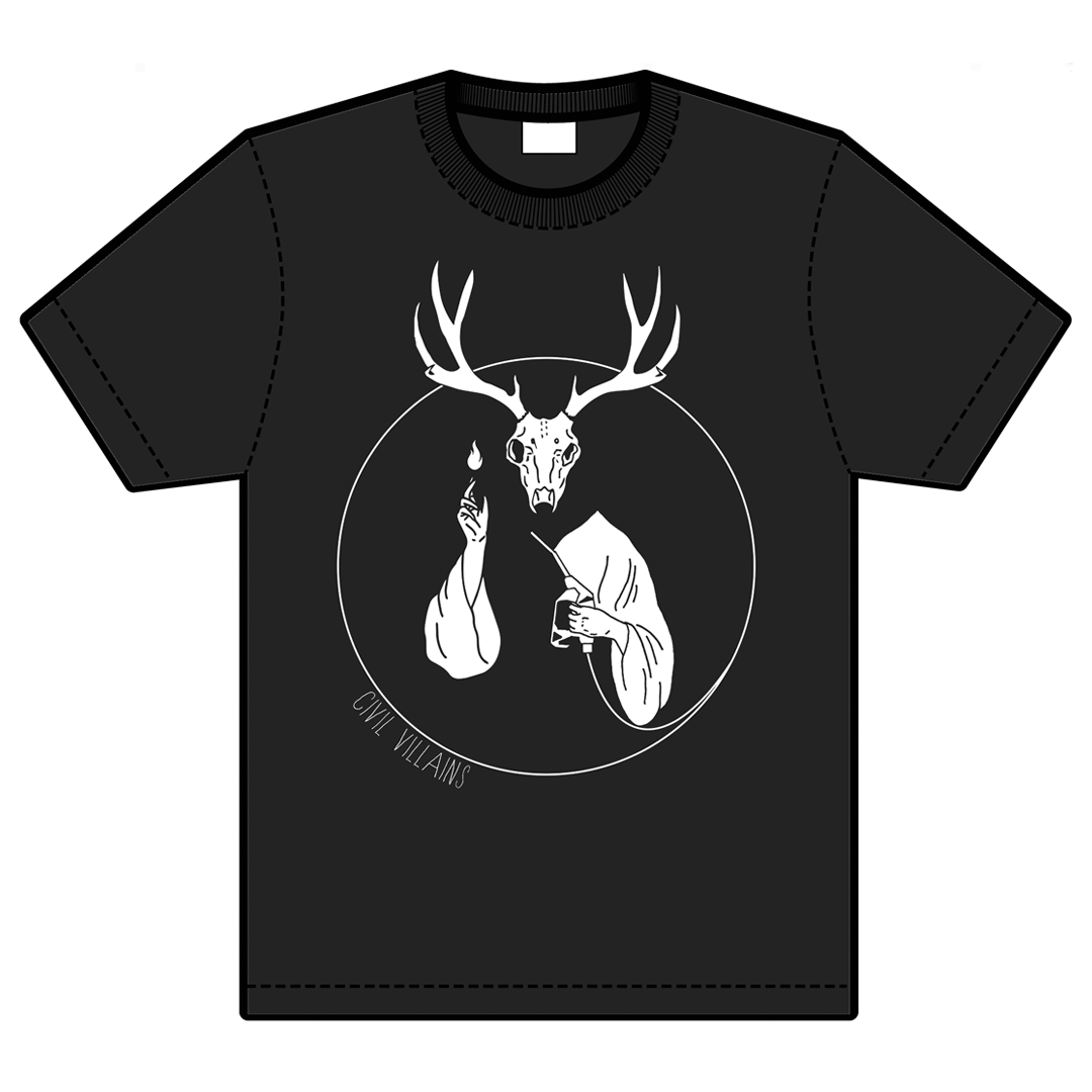 Civi Villains - 'Oh, Deer Lord' T-shirt