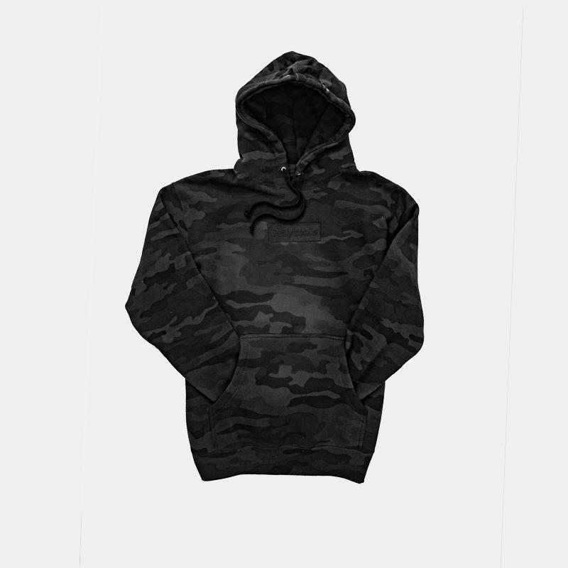 Black on Black Camo Colorway Hoodie