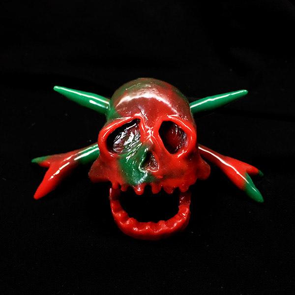 It's A Teenage Bottle Rocket Christmas Skull