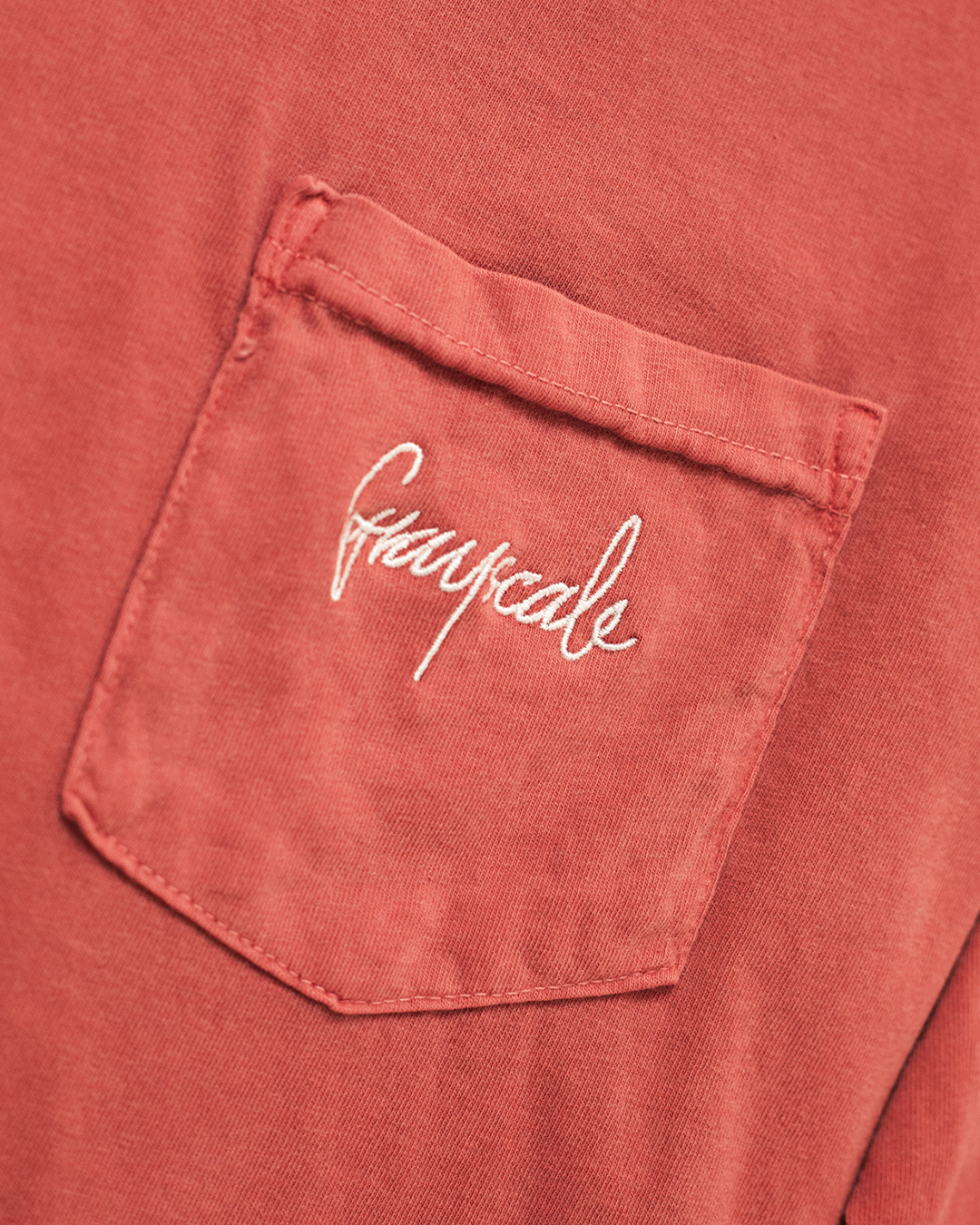 Washed Ruby Script Long Sleeve