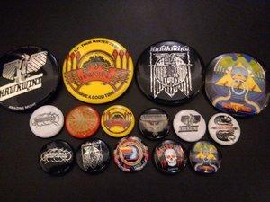 Hawk Fan Badge Pack