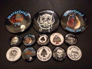 Motorheadbangers Badge Pack