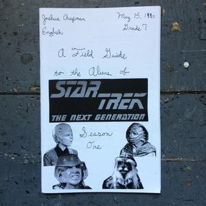 Field Guide to the Aliens of Star Trek: The Next Generation, Season 1