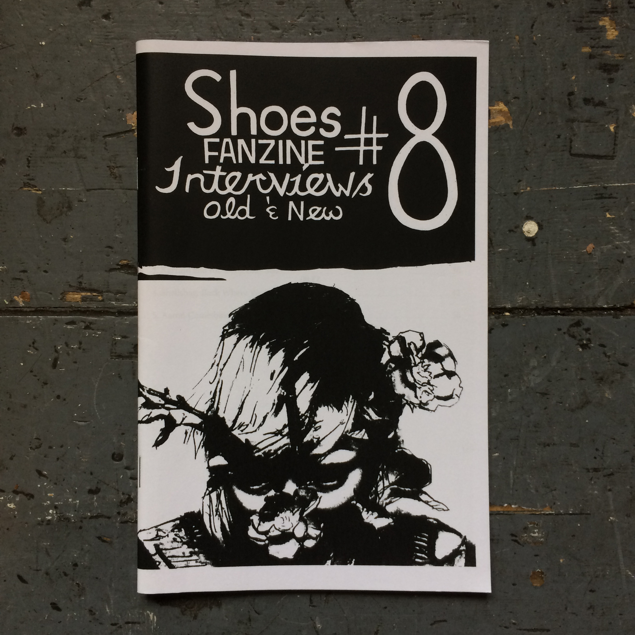 Shoes Fanzine #8: Interviews Old & New