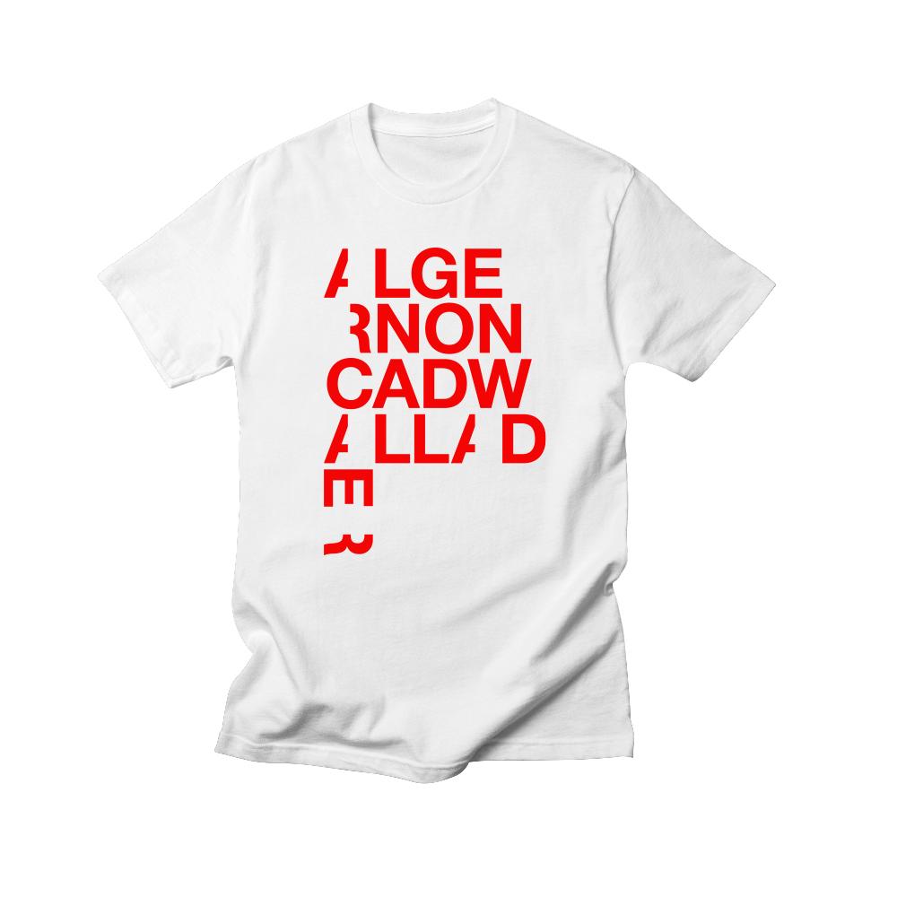 Algernon Cadwallader - Original Shirt (White/Red)