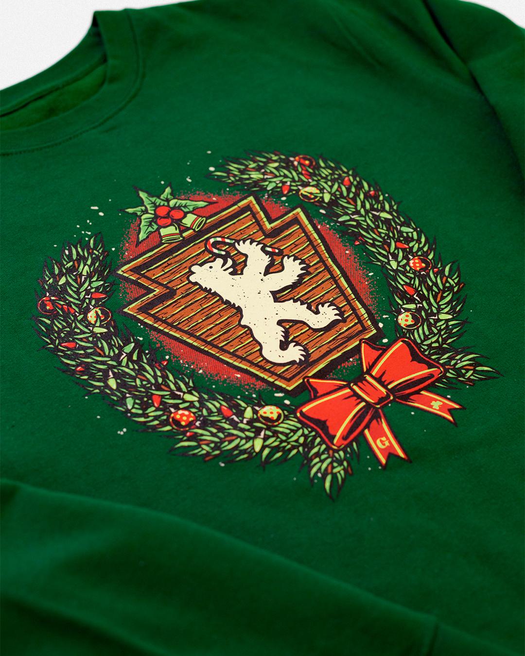 Christmas Crest Crewneck