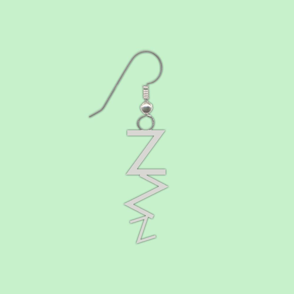 ZZZ Single Earring