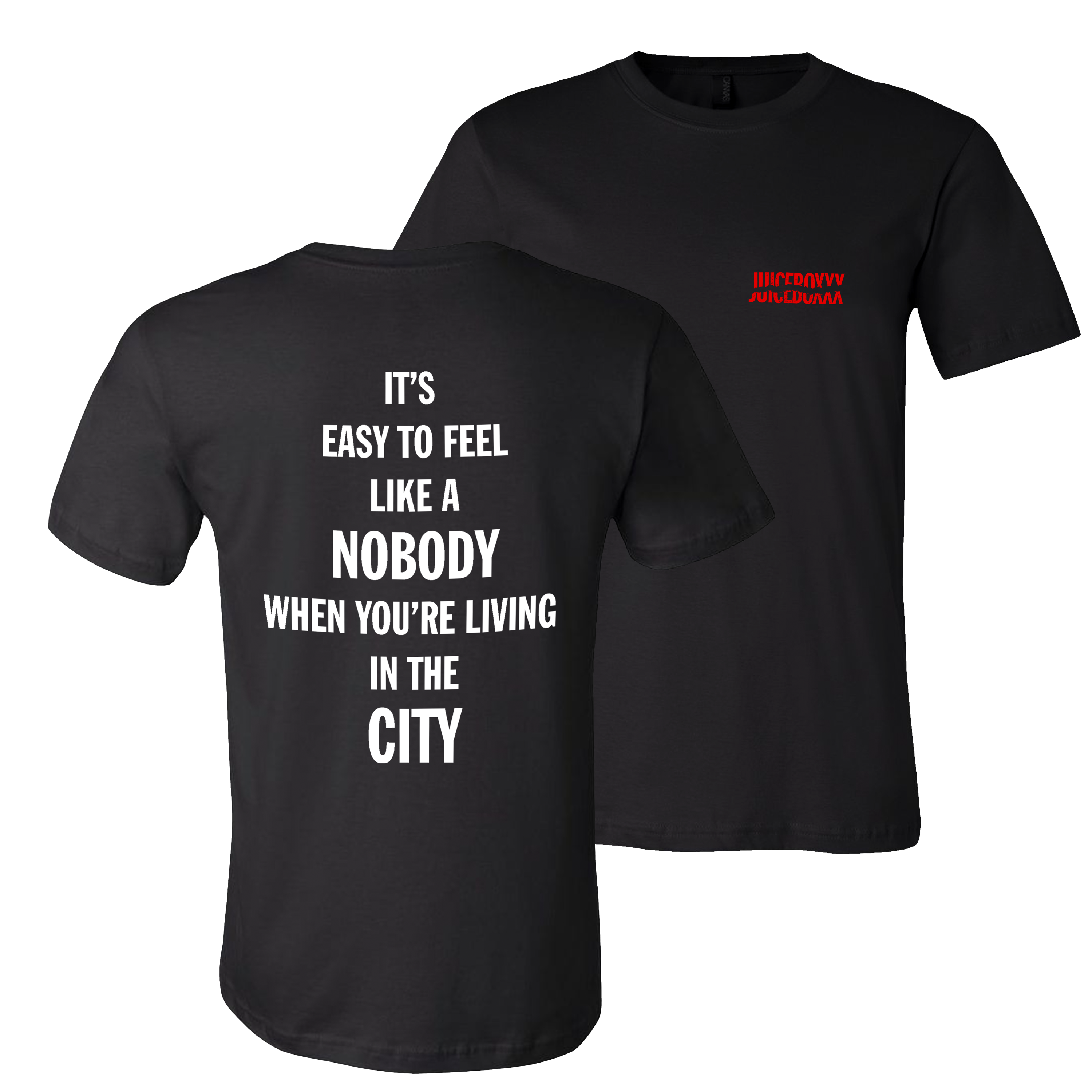 Juiceboxxx - It's Easy To Feel Like A Nobody When You're Living In The City - CD + Shirt Bundle