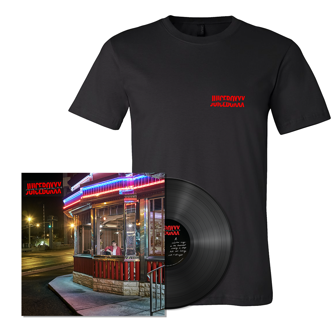 Juiceboxxx - It's Easy To Feel Like A Nobody When You're Living In The City - LP + Shirt Bundle