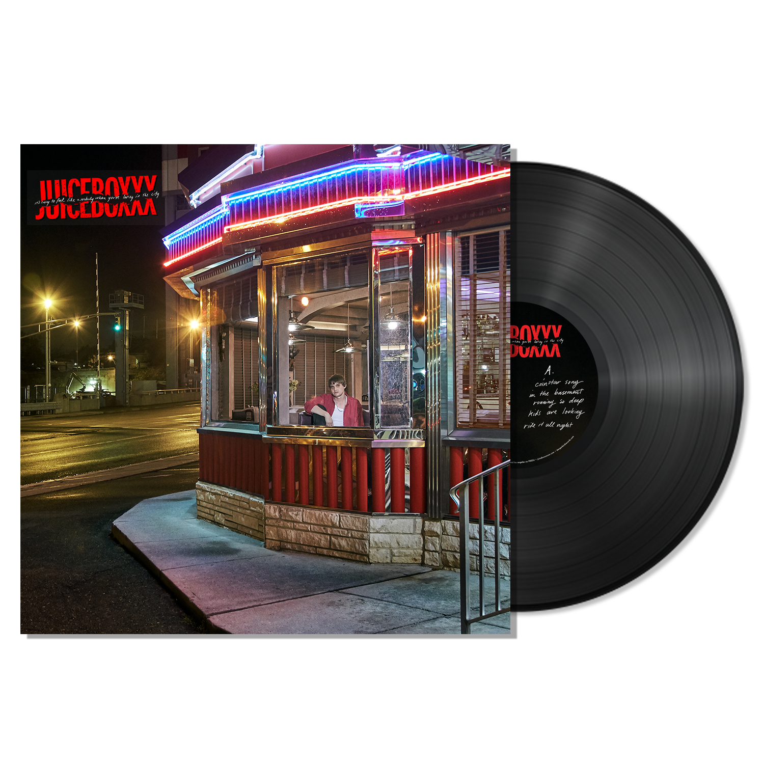 Juiceboxxx - It's Easy To Feel Like A Nobody When You're Living In The City - LP Bundle