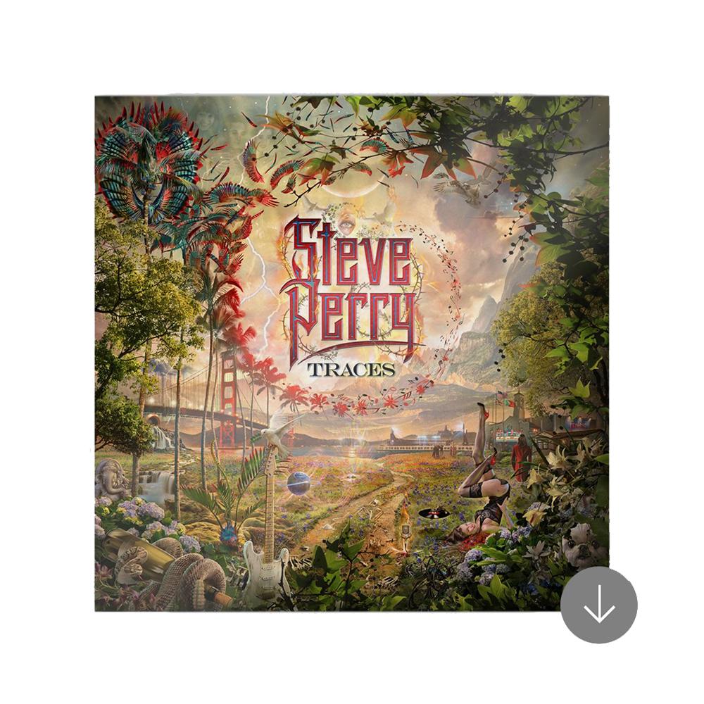 Steve Perry Jumbo Maroon Christmas Mug + 15-track Vinyl/CD/Download (Optional)