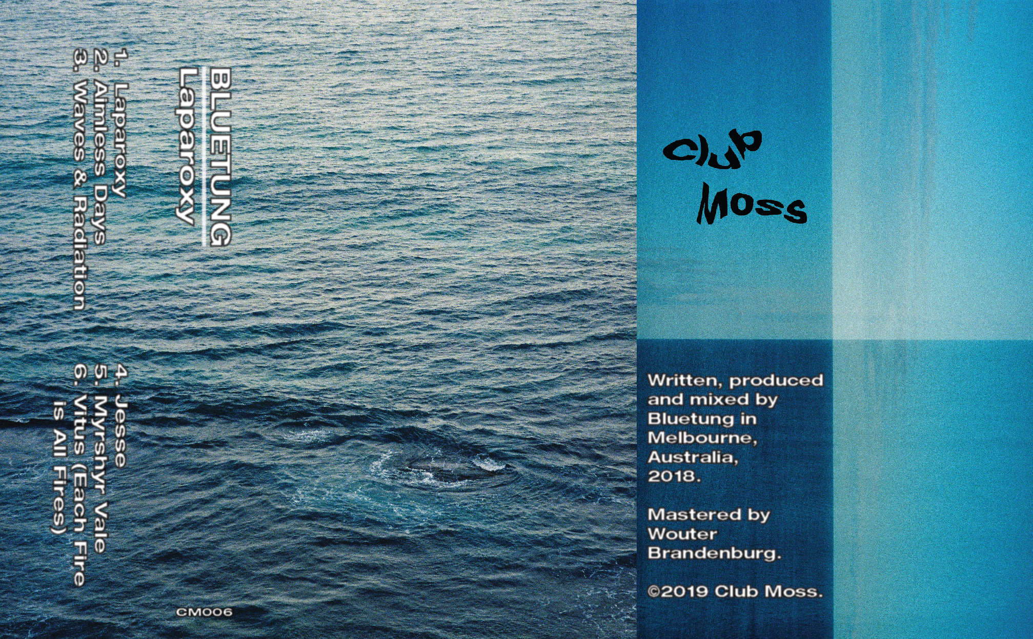 Bluetung - 'Laparoxy' [Club Moss 006]