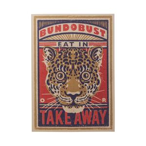 Leopard - A3 Art Print (Liverpool)