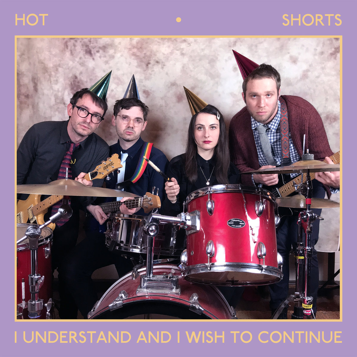 Hot Shorts - I Understand And I Wish To Continue LP