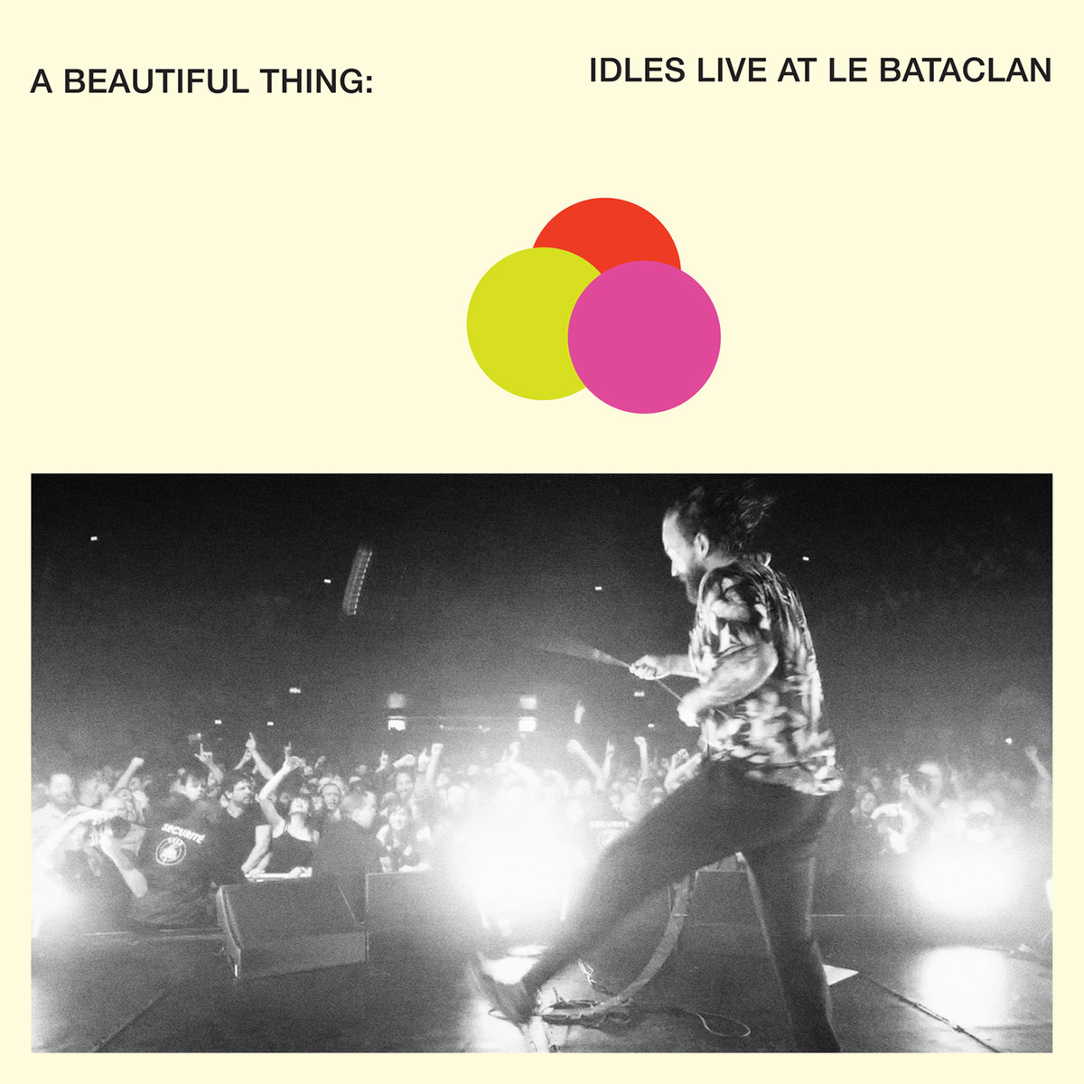 Idles - A Beautiful Thing: Live at Le Bataclan 2xLP