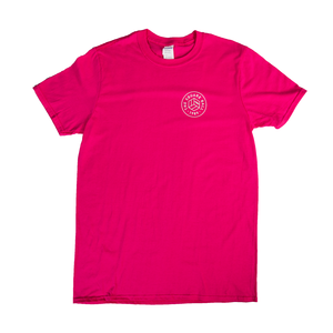 The Square Ball Studs Up Pink T-Shirt