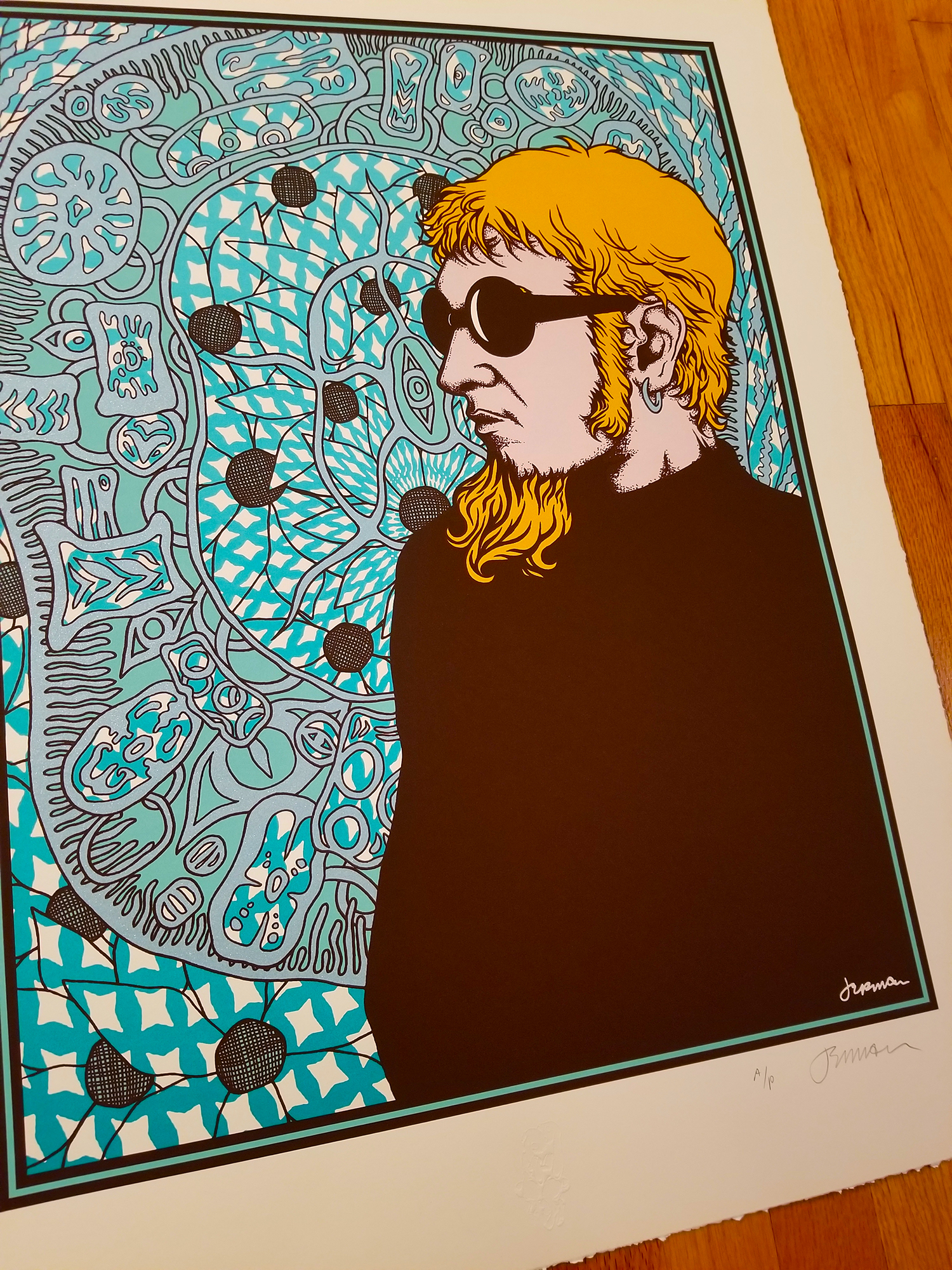 NEW - 'Wake Up, Young Man...' (Layne Staley) Fine Art Print (Gallery Edition & Copper Variant)