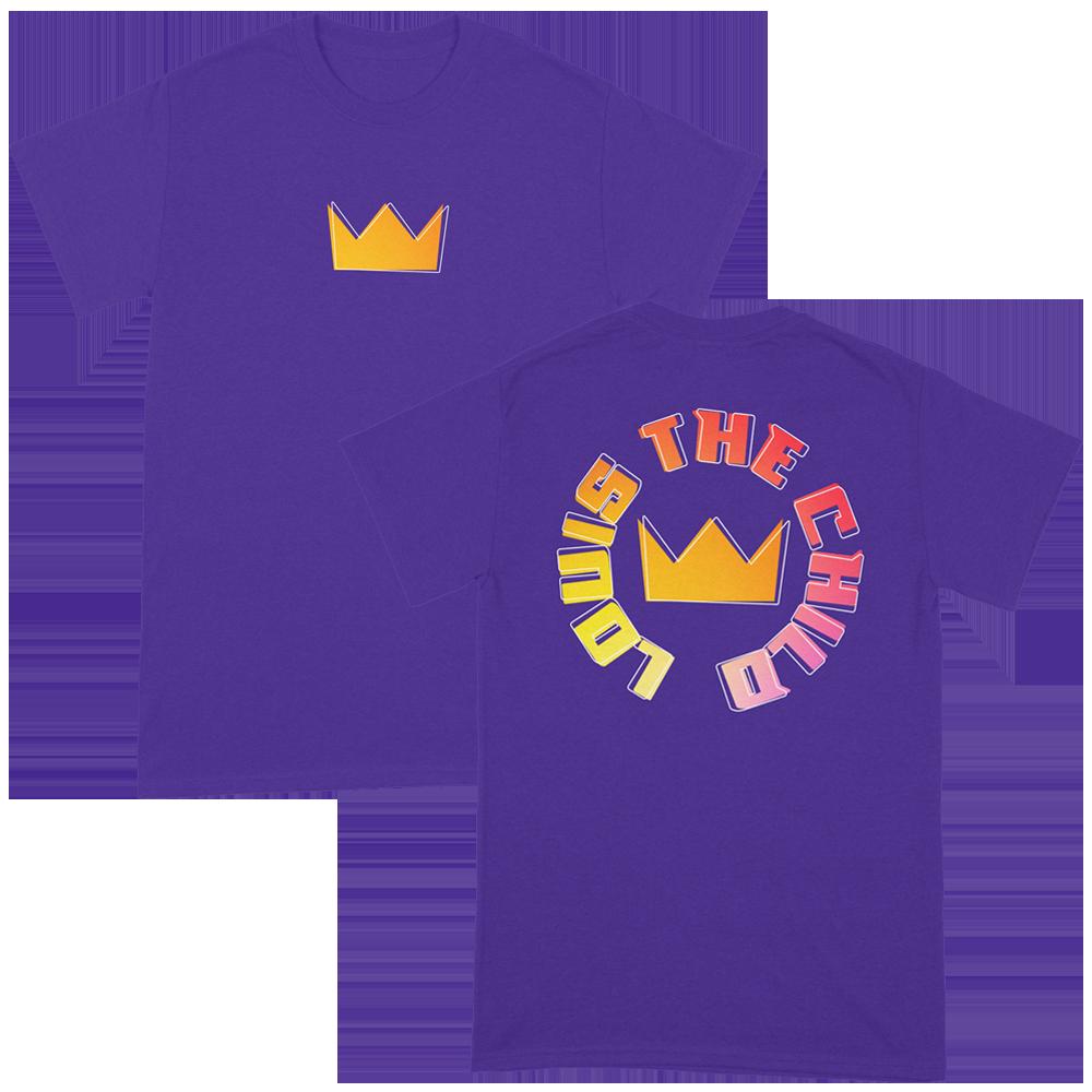 Purple Crown Tee