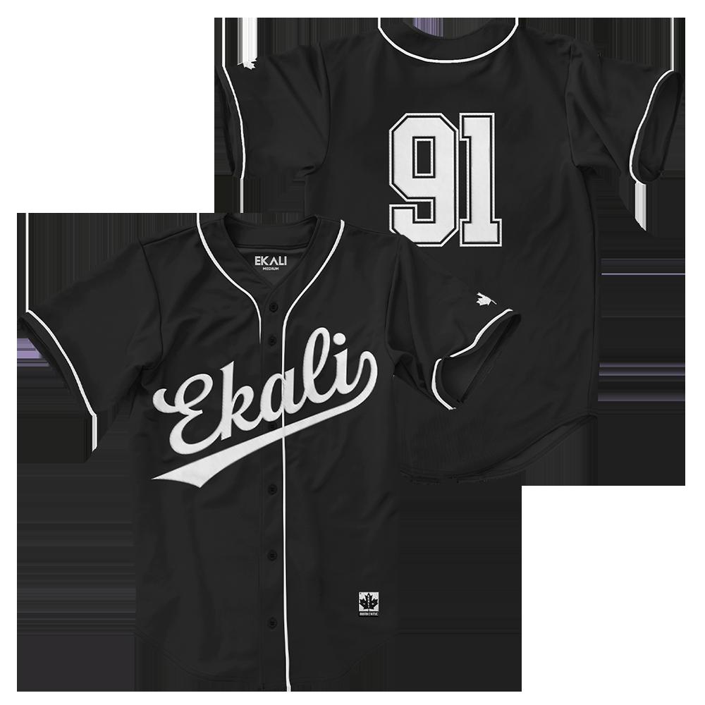 Retro Black Jersey