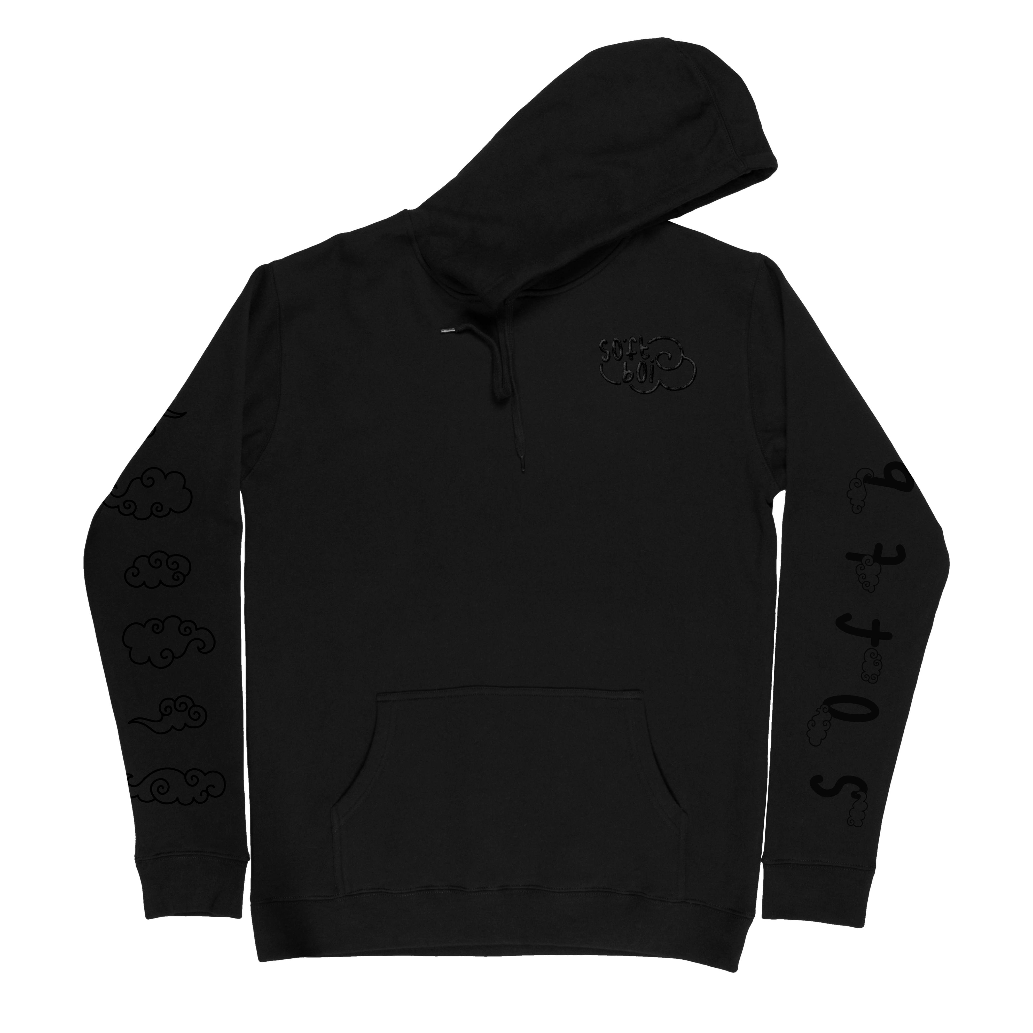 Black Out Soft Boi Hoodie