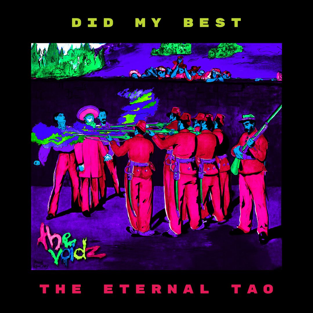 The Voidz - Did My Best & The Eternal Tao Limited Edition Black Lit Vinyl