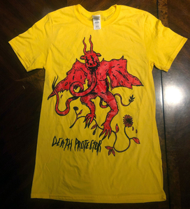 Death Protector Devil - Yellow Shirt