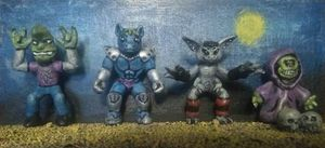 Children of Otherness, Series 1: The Badlets (3D Printed Prototypes)