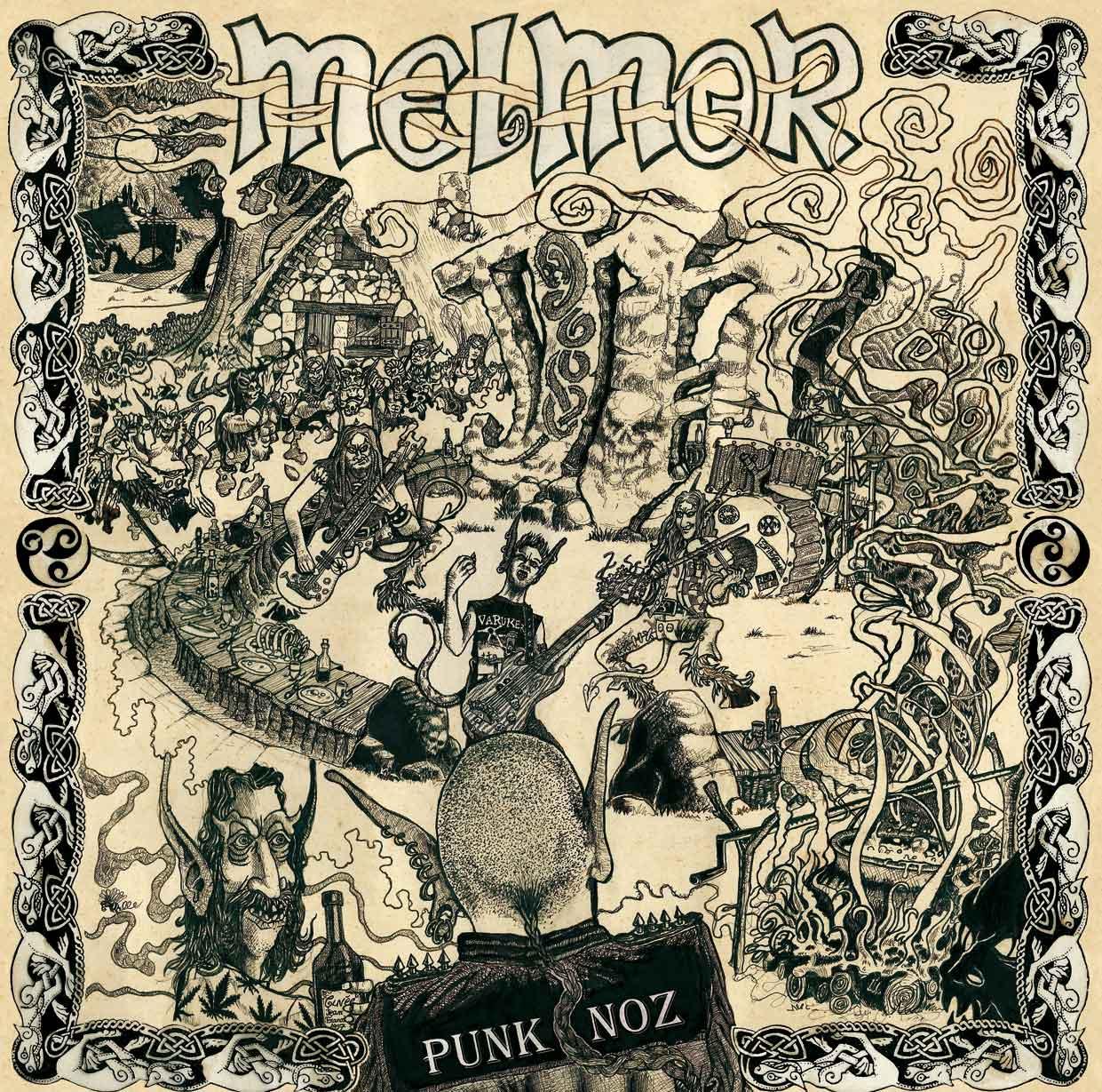 Melmor - punk noz