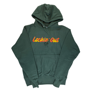 Lockin' Out - Camo Hoodie (Green)