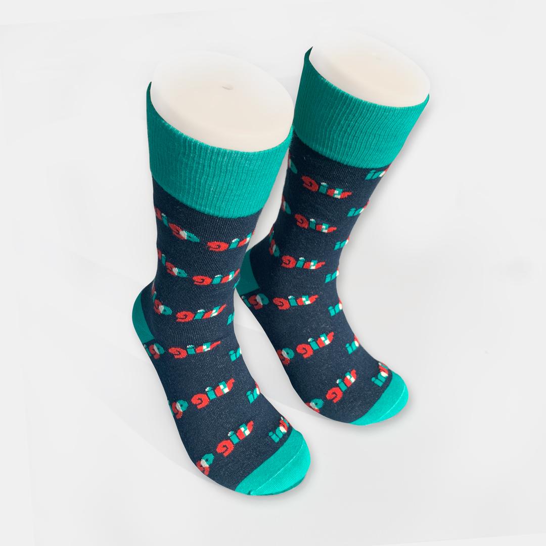 Custom Socks (Indigo Girls and Crescent Moon) + Live 3xLP/CD/Album Download (optional)