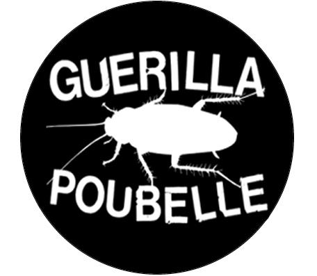 Guerilla Poubelle - badge cafard