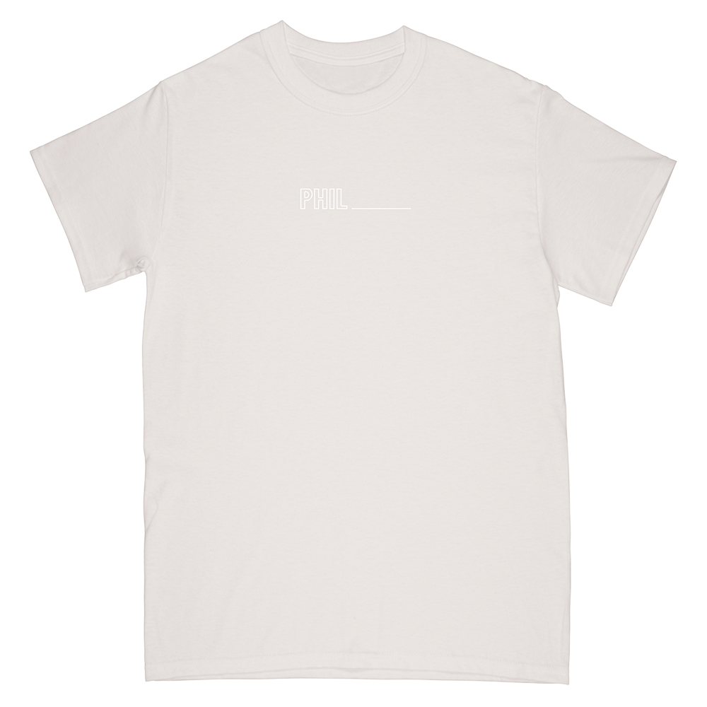 Phil Good Tee (Cement Grey)
