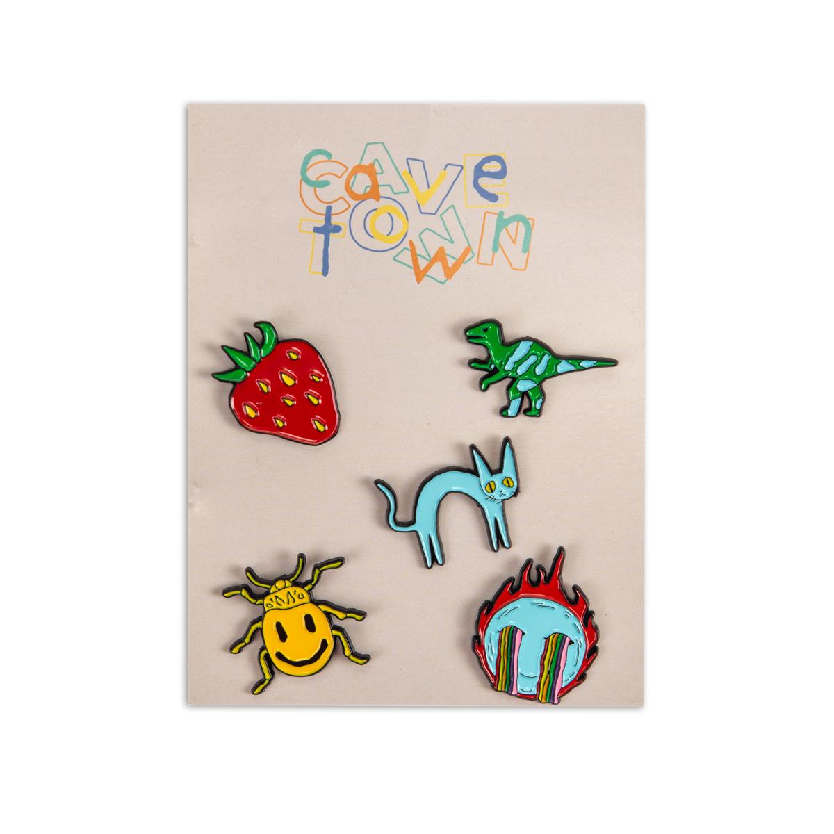 Cavetown 5 Pin Pack