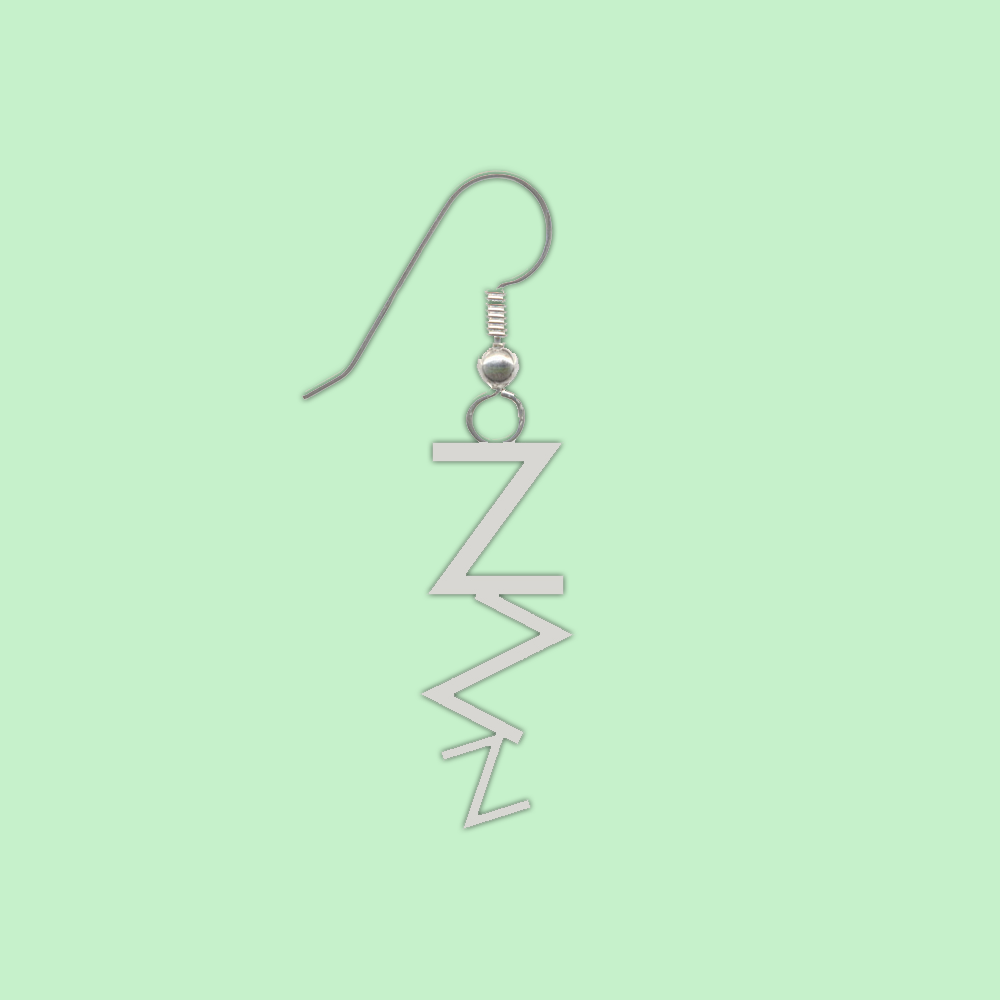 zzz single earring