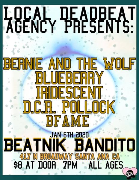 Local Deadbeat Presents: DCR Pollock, Bernie and the Wolf