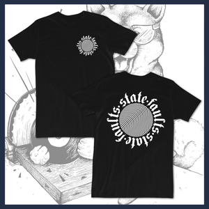 State Faults - Waves - T-Shirt - Tour Leftovers
