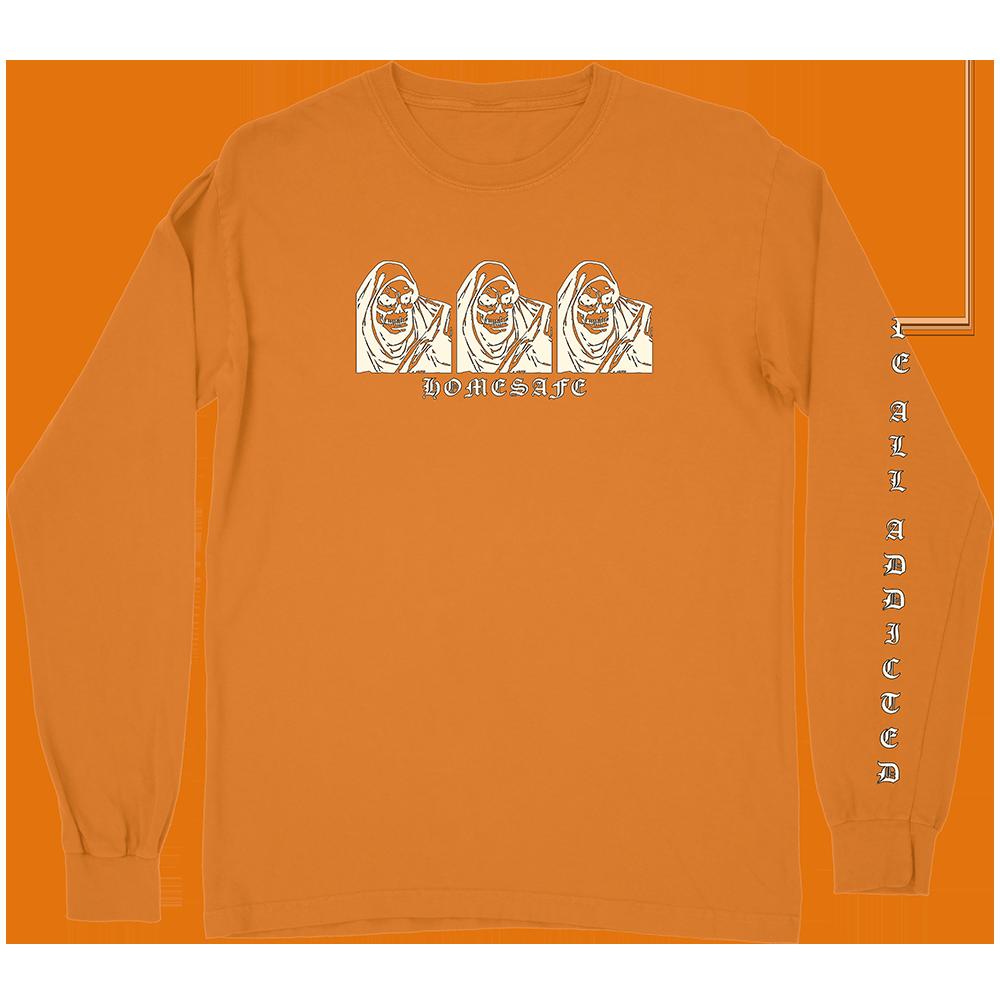 Death Orange Long Sleeve