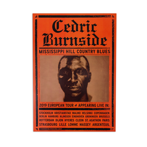 Cedric Burnside POSTER