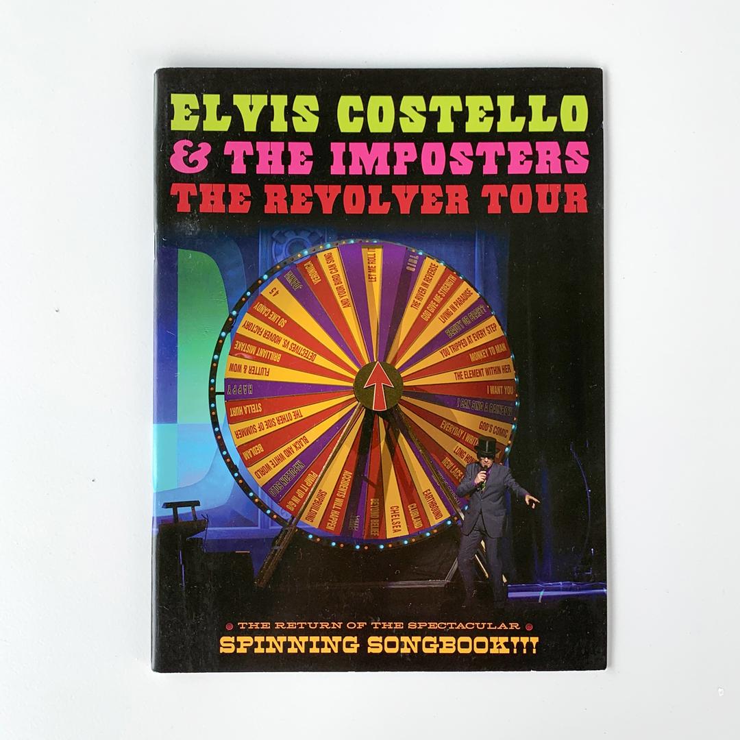 Revolver Tour Book