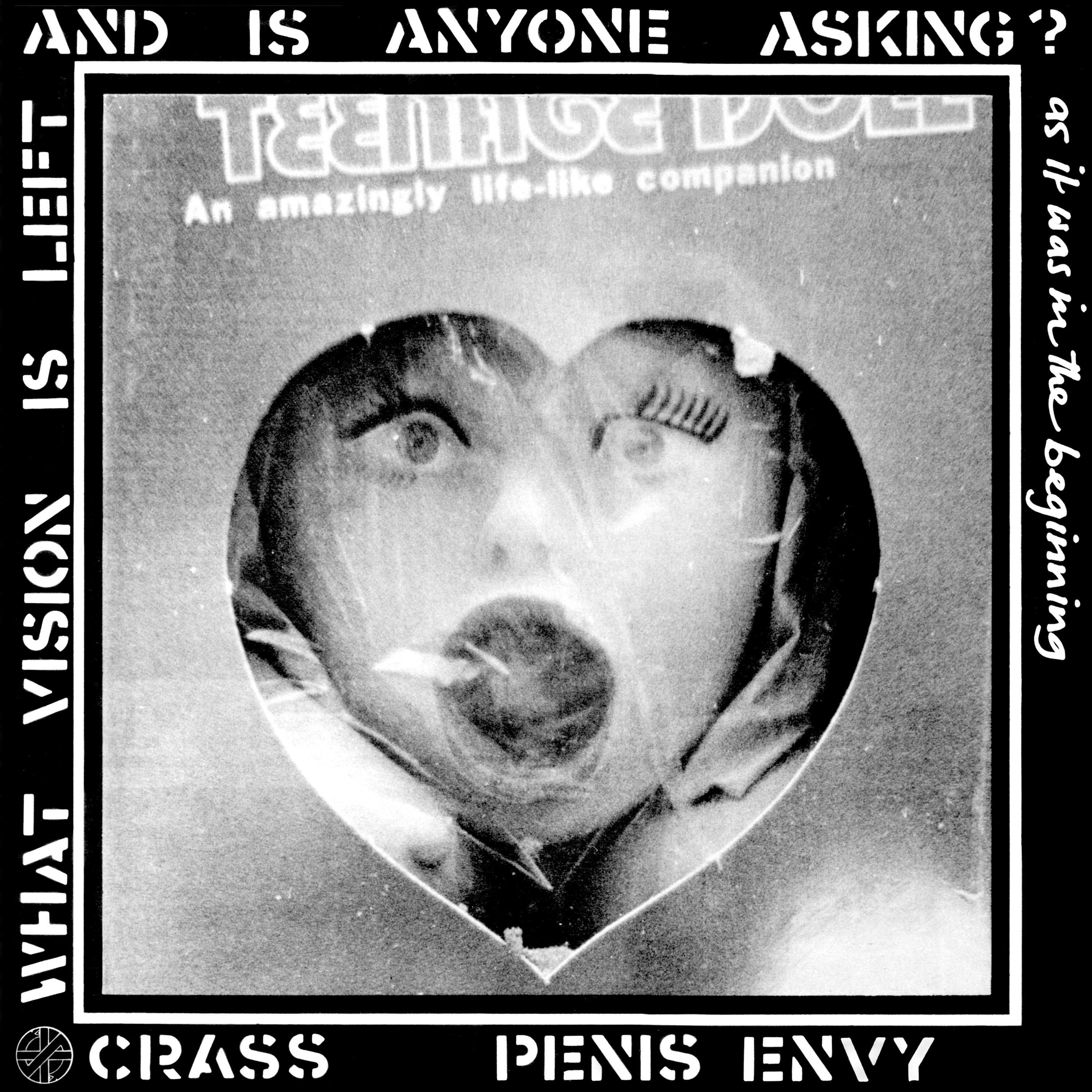 Crass - Penis Envy LP