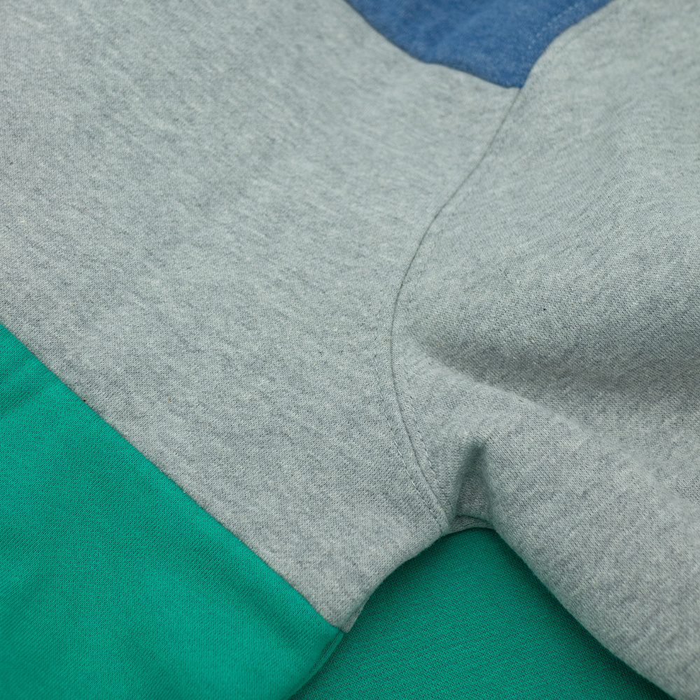 Colour Block Crewneck