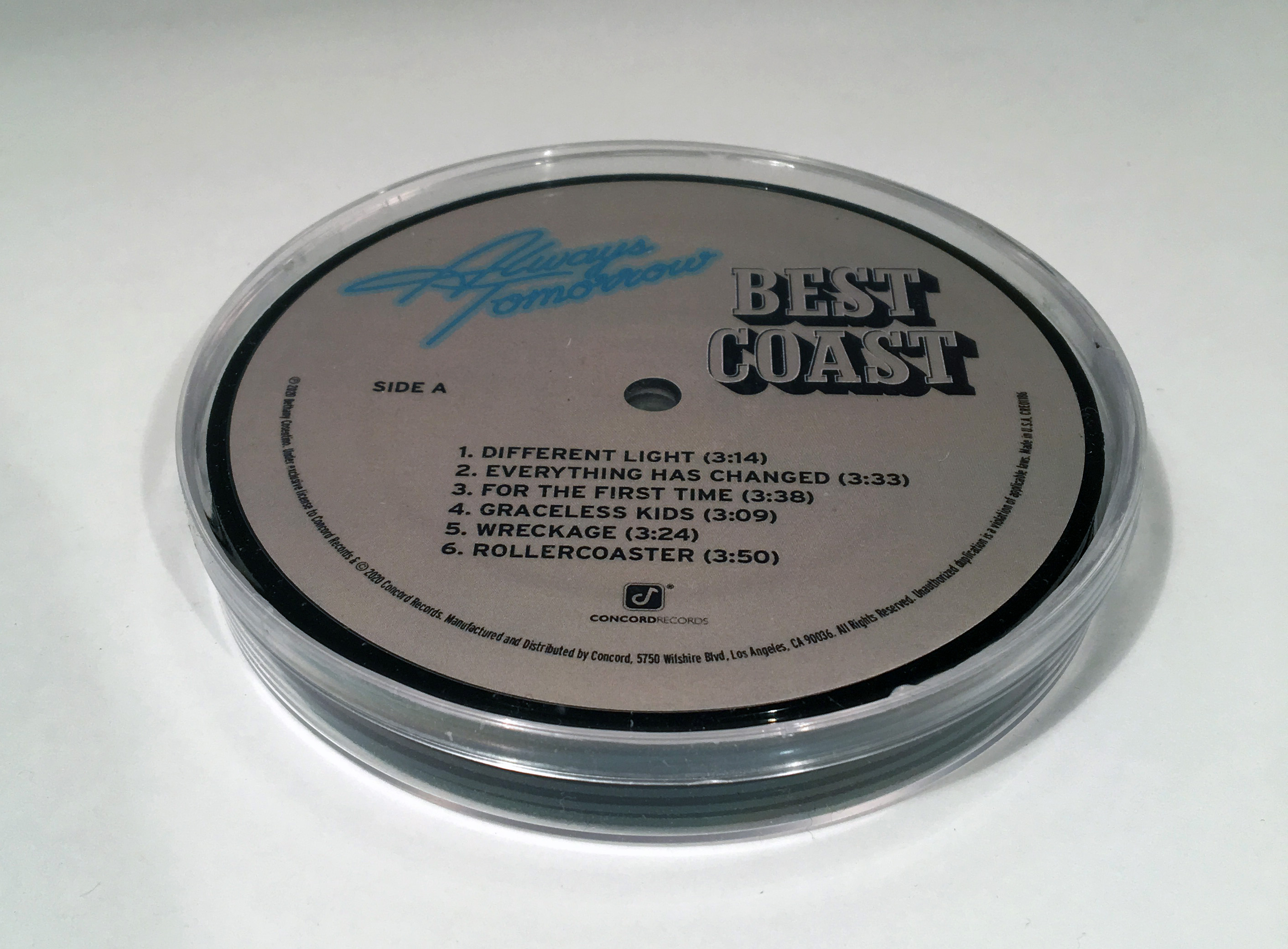 Vinyl Coasters (set of six) + Vinyl/CD/Album Download (optional)