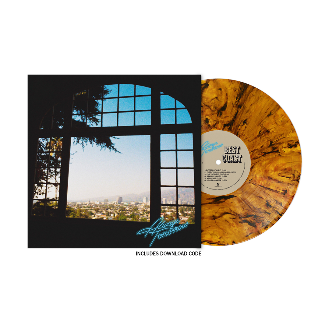 """Always Tomorrow"" Satin Jacket + Vinyl/CD/Album Download (optional)"